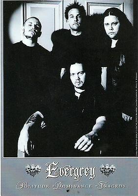 EVERGREY  Promo Press Photo Hall of Sermon Records 15x21cm  Promotional Picture