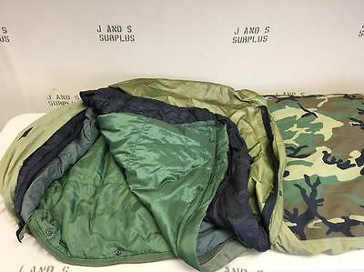 4 piece modular sleep system USGI military surplus MSS Excellent Grade A/B