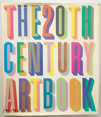 Huge HISTORY OF 20TH CENTURY ART BOOK Phaidon Press