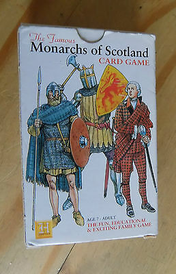 Monarchs of Scotland Card Game (Heritage Toy and Game Co)