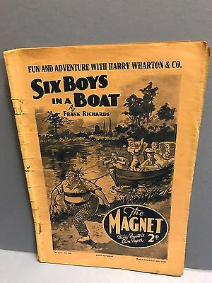 The Magnet Comic w/e August 26th 1939