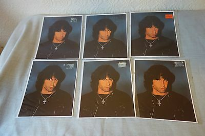 Jim Morrison - 6  Greetings Cards with Envelopes.