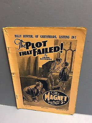 The Magnet Comic w/e August 5th ,1939