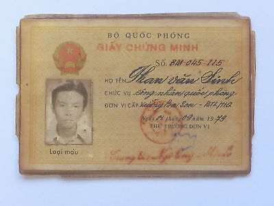 Vietnam Army Papers Than Van Sinh1979 Cambodia War - Obsolete