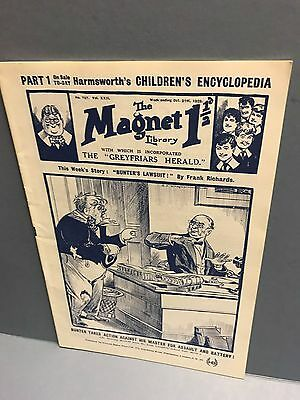 The Magnet Comic w/e Oct. 21st 1922 Facsimile