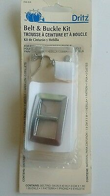 """Dritz Belt And Buckle Kit 3/4"""" X 40"""" Long New Sealed"""