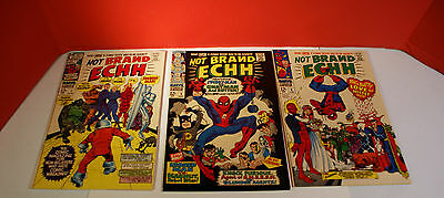Marvel Not Brand EHH #'s 1,2,6 Silver Age Comics (Original Owner Unrestored)