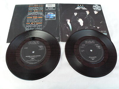 """SHY REFLECTIONS RCA RECORDS UK  2 x 7"""" VINYL SINGLES in GATEFOLD PICTURE SLEEVE"""