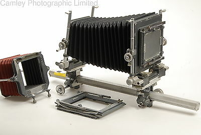 DeVere 5×7 Monorail Camera with 4×5 reducing back. Condition – 6J [5165]