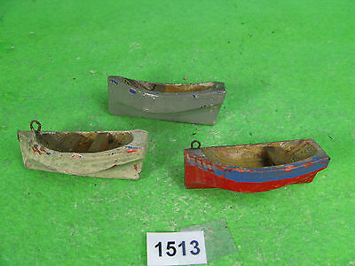 unusual small wood rowing boats waterline models 1513