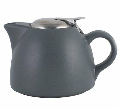 La Cafetiere BARCELONA TEAPOT with Filter COOL GREY 450ml Ceramic