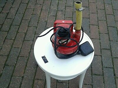 submersible water pump with float switch