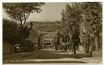 TUNBRIDGE WELLS, Mount Sion Real Photo by Judge's, posted 1928