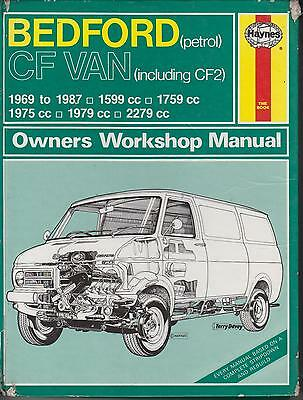 Bedford Cf & Cf2 1.6 1.8 2.0 2.3 Petrol ( 1969 - 1987 ) Owners Workshop Manual