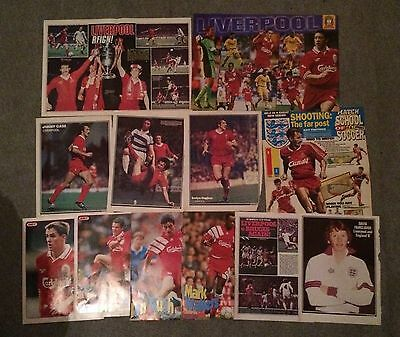Various Liverpool FC posters (12)