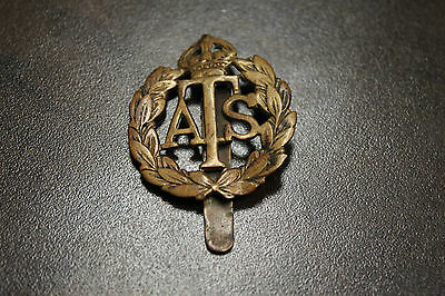 WWII ATS (Auxiliary Territorial Service) Great Britain Cap Badge