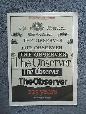 The Observer Special 225 Year Supplement