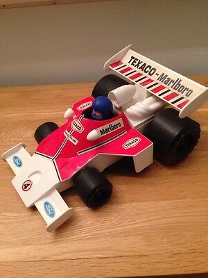 Vintage Toy Racing Car Battery Operated