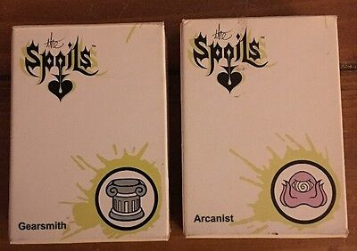 The Spoils Gearsmith & Arcanist First Edition Pre-Con Starter Deck CCG TCG Cards