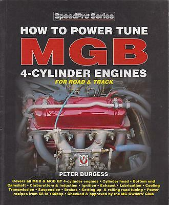 MG MGB MK1 MK2 GT COUPE & ROADSTER 1962-80 1800cc B-SERIES ENGINE TUNING MANUAL