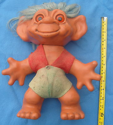 Original 1964 Dam Troll Iggy Normous? 12 inch Tall Free P&P to UK