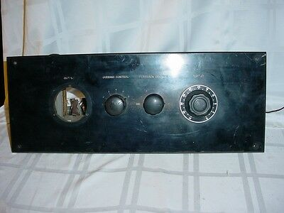 """RCA Broadcast """"Filter unit for universal pickup"""" for 16"""" Transcription turntable"""