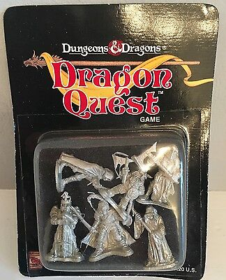 Dungeons & Dragons 6 Metal Figures By Ral Partha - Special Edition NEW! 1992