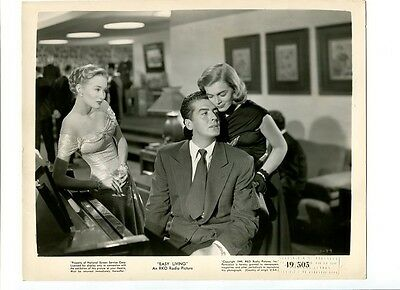 Easy Living-1949-8X10 Promotional Still-Victor Mature-Lucille Ball-Drama- G/vg