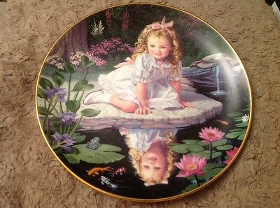 Danbury Mint Collectors Plate MONDAYS CHILD From CHILDREN OF THE WEEK