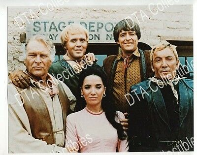 HIGH CHAPARRAL-8x10 PROMO STILL-60S TV WESTERN-GROUP PHOTO FN