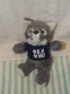 KLOS 95.5 radio stationThe Wolf With Shirt PLUSH Stuffed