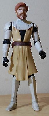 OBI-WAN KENOBI ACTION FIGURE 3.75in. 2008 CLONE WARS BY KENNER