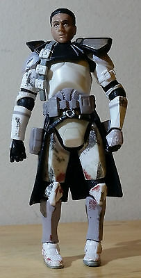 VINTAGE CLONE TROOPER w/o HELMET 3.75in. 2005 HASBRO REVENGE OF THE SITH