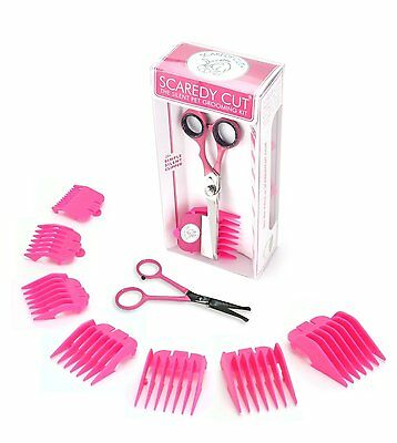 SCAREDY CUT Pink + TINY TRIM Pink Silent Pet Grooming COMBO PACK. Dog & Cat.