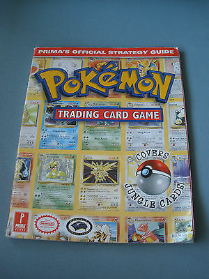 Pokemon Trading Card Game Official Strategy Guide 1999 By Prima Publishing