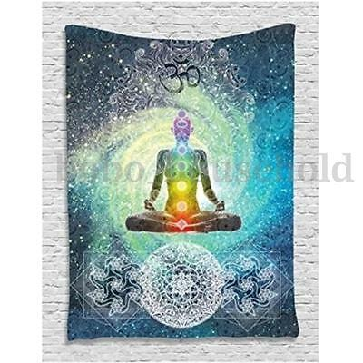 Indian Ethnic Mandala Wall Hanging Tapestry Hippie Bohemian Bedspread Dorm Cover