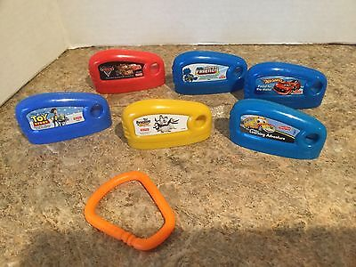 Fisher Price SMART CYCLE game cartridges LOT of 6