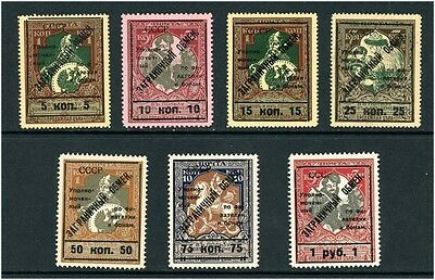 Russia 1925 Foreign Exchange PE6-12 MNH
