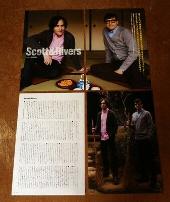 '13 Rivers Cuomo Scott 6pg 2 photo JAPAN mag article / Weezer Allister clippings