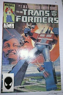 Transformers #1   High Grade NM   Limited Series