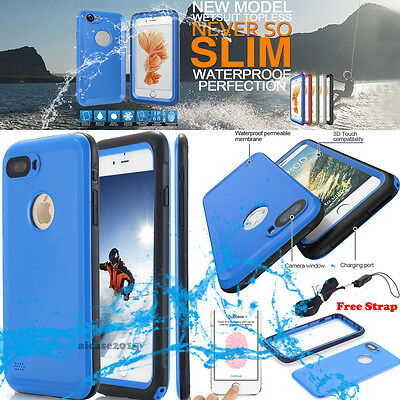 ULTRA THIN WATERPROOF SHOCKPROOF DIRT PROOF HARD CASE COVER IPHONE X 6S 7 8 Plus