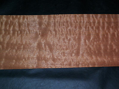 Pomelle  Sapele raw wood veneer, 6 x 41 inches. 1/42nd Exotic           r6131-35