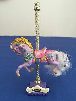 Vintage Matchbox Carousel Collection Horse HARMONY with display stand