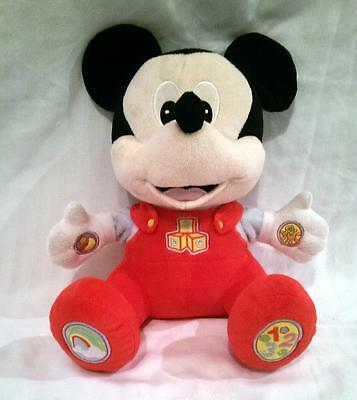 Disney Baby Mickey Mouse Activity Talking Musical Plush Soft Toy