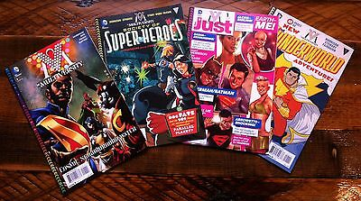 GRANT MORRISON Multiversity SET pt 1 - S.O.SH, The JUST, THUNDERWORLD Adventures