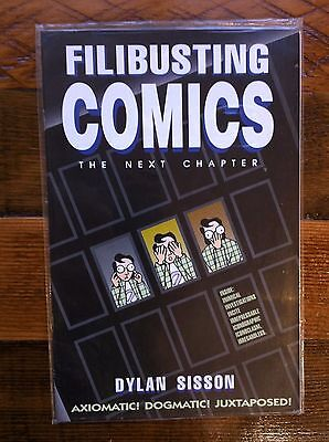 FILIBUSTING COMICS by Dylan Sisson - SCOTT McCLOUD parody 1995, FANTAGRAPHICS