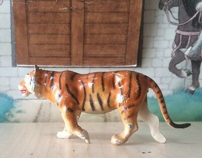 Britains, France Depose ,zoo, Figure #s  Lead/hollow-Cast, Painted Tiger. 2
