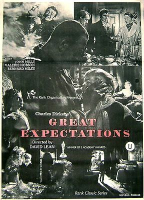 Great Expectations 1946 Original Release 30x40