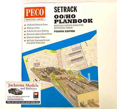Peco STP-OO Setrack Planbook OO/HO Track Plans Fourth Edition