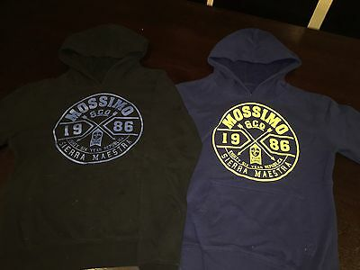 2 Boys Size 12 Mossimo Hooded Jumpers